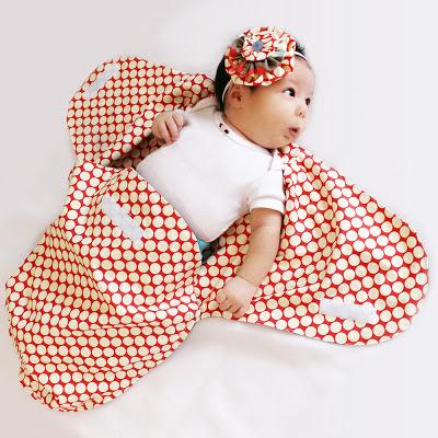 swaddle blanket pattern