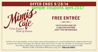 Mimis Cafe coupons april