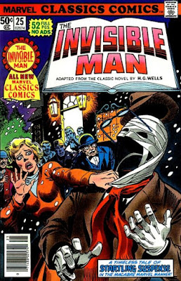 Marvel Classics Comics #25, the Invisible Man