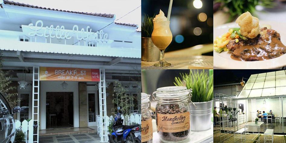 Little white cafe Jln Lodaya Bandung