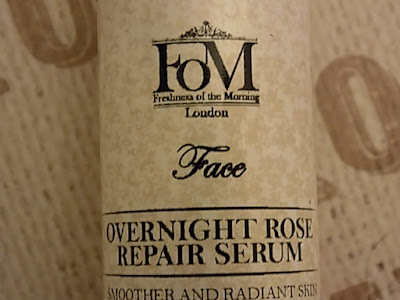 FOM London Organic skincare review