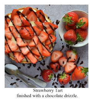 Fresh fruit tarts are a classic dessert which make the most of summer produce.  Our Strawberry tart with creme patisserie recipe takes you through how to make each separate component from scratch, though of course feel free to buy a ready made pastry case from your local supermarket if you prefer.