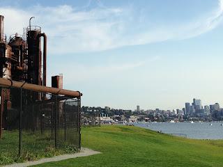 Gasworks Park in Seattle