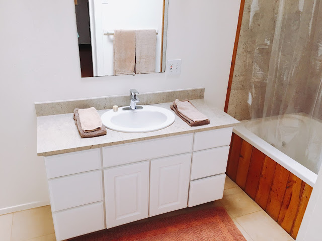 bathroom for Bedroom 2 at Dreams Come True on Lana'i Island in Hawai'i
