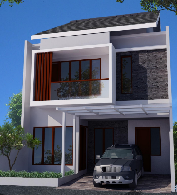 Minimalist House Design 2 Floor Type 36 36 6 21 21 45 60 90 Decor
