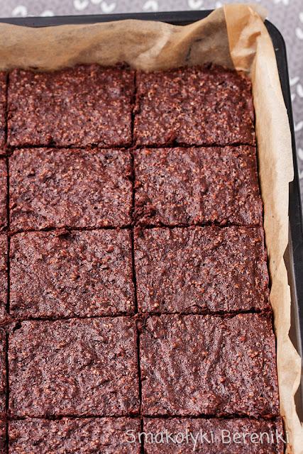 Brownie z orzechami bez mąki
