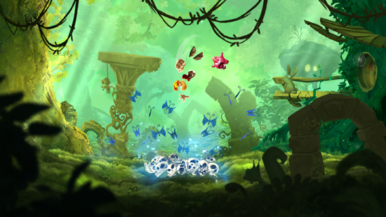 Video games: Rayman Adventures - search of the Incrediball