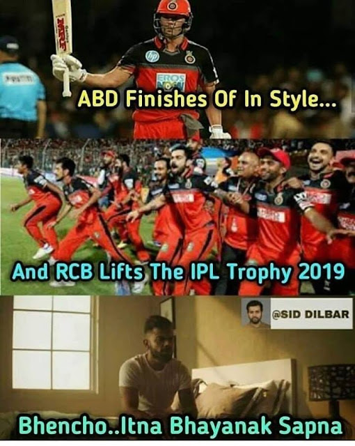 RCB jokes and memes