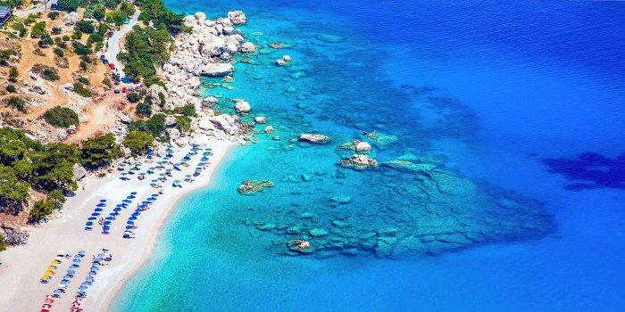 Karpathos: spiagge costa orientale