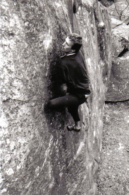 Olivier Pennel, La Stalingrad, 6b, 90's, Bas Cuvier, (C) Greg Clouzeau