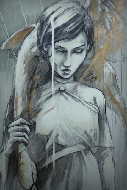 """Marauders"" New Street Art Mural By Faith47 For Los Muros Hablan '13 In Puerto Rico. 6"