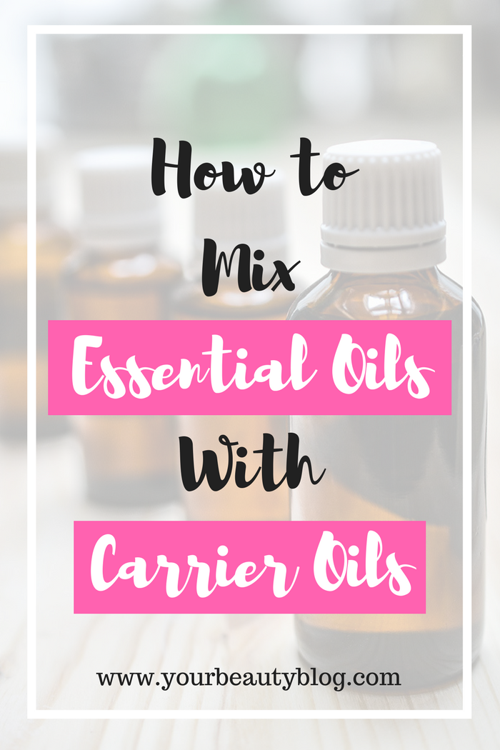 How to Mix Essential Oils With Carrier Oils