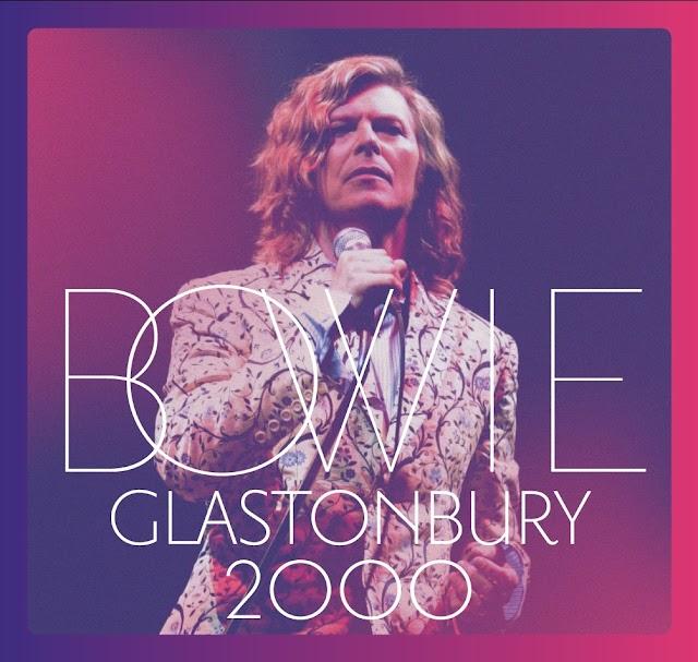David Bowie: Ouça agora o lançamento Glastonbury 2000