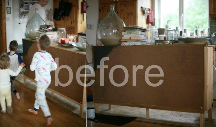 Ensin kokeilin maalia toiseen Ikean Antilop juniorituoliin 550f8cc3f8