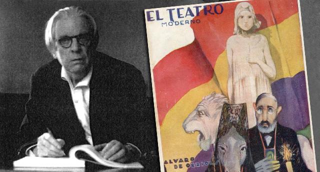 Álvaro de Orriols, teatro político y de masas en la II República