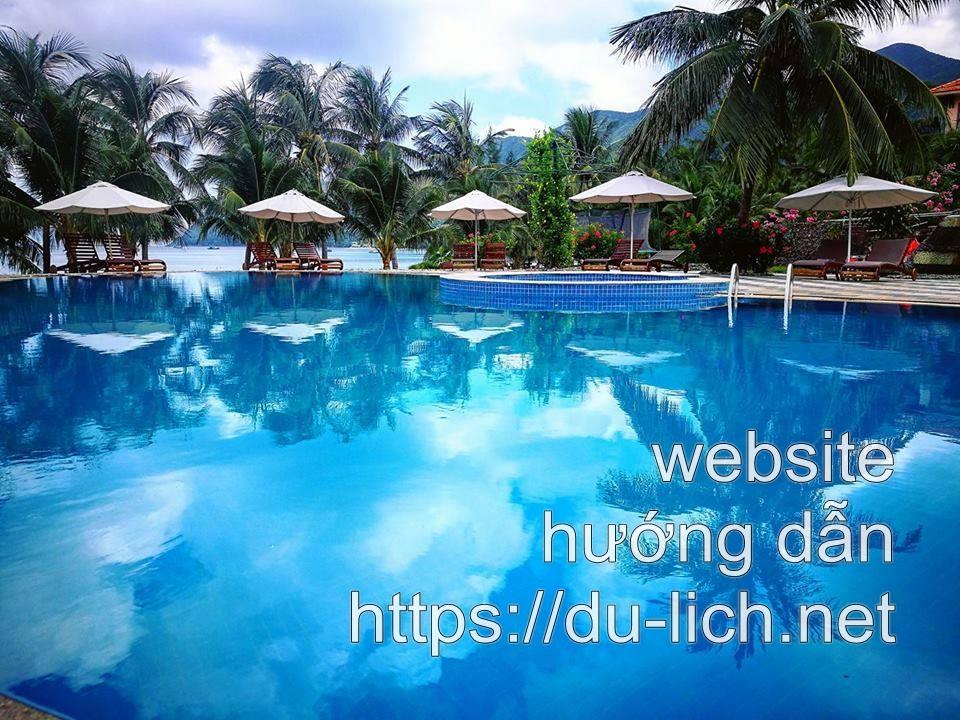 Hình ảnh một khu resort ở Côn Đảo
