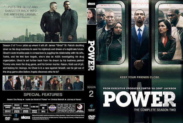 Capa DVD Power Segunda Temporada Completa