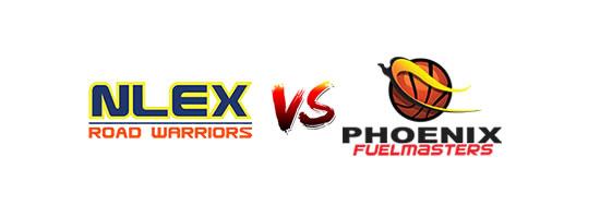 NLEX Road Warriors vs Phoenix Fuelmasters - 4:30pm