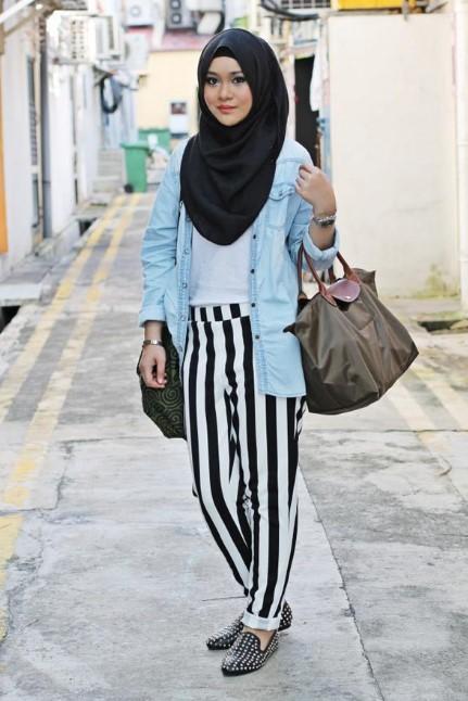 fashion hijab remaja terbaru