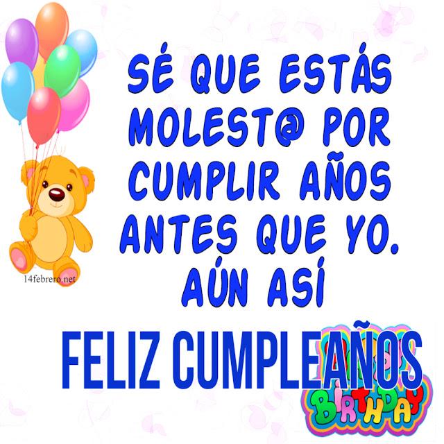 cumpleaños para Facebook