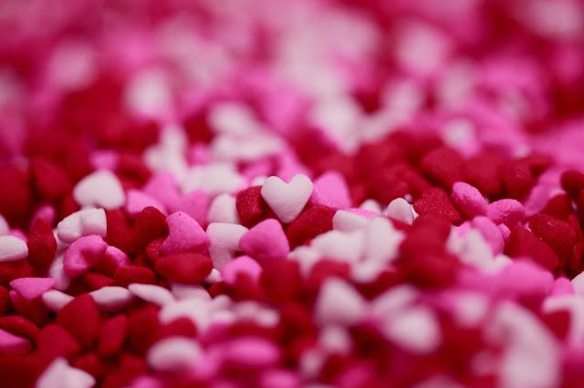 st-valentin, collation, santé, surprise, rose, amour, enfants