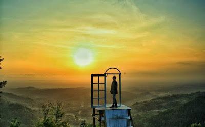 Lokasi Dan Rute Menuju Pintu Langit Dahromo Dlingo Bantul
