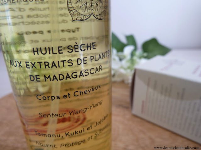 Huile sèche Madagas'Care Cosmétiques