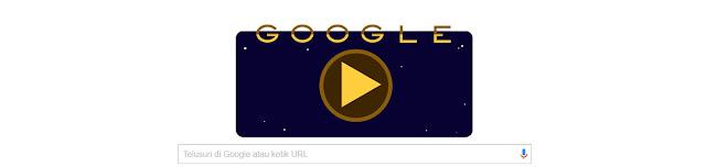 """""""Cassini"""" Masuk Area Baru di Cincin Saturnus, Google Doodle Merayakannya"""
