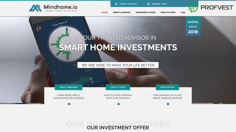 Mindhome обзор и отзывы HYIP-проекта