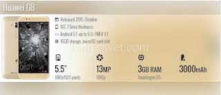 25. Huawei G8