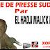 Revue de presse (Wolof) Sud fm du samedi 22 septembre 2018 par El Hadji Malick Ndiaye