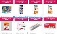 Logo Buoni sconto in Farmacia: 48 coupon da stampare