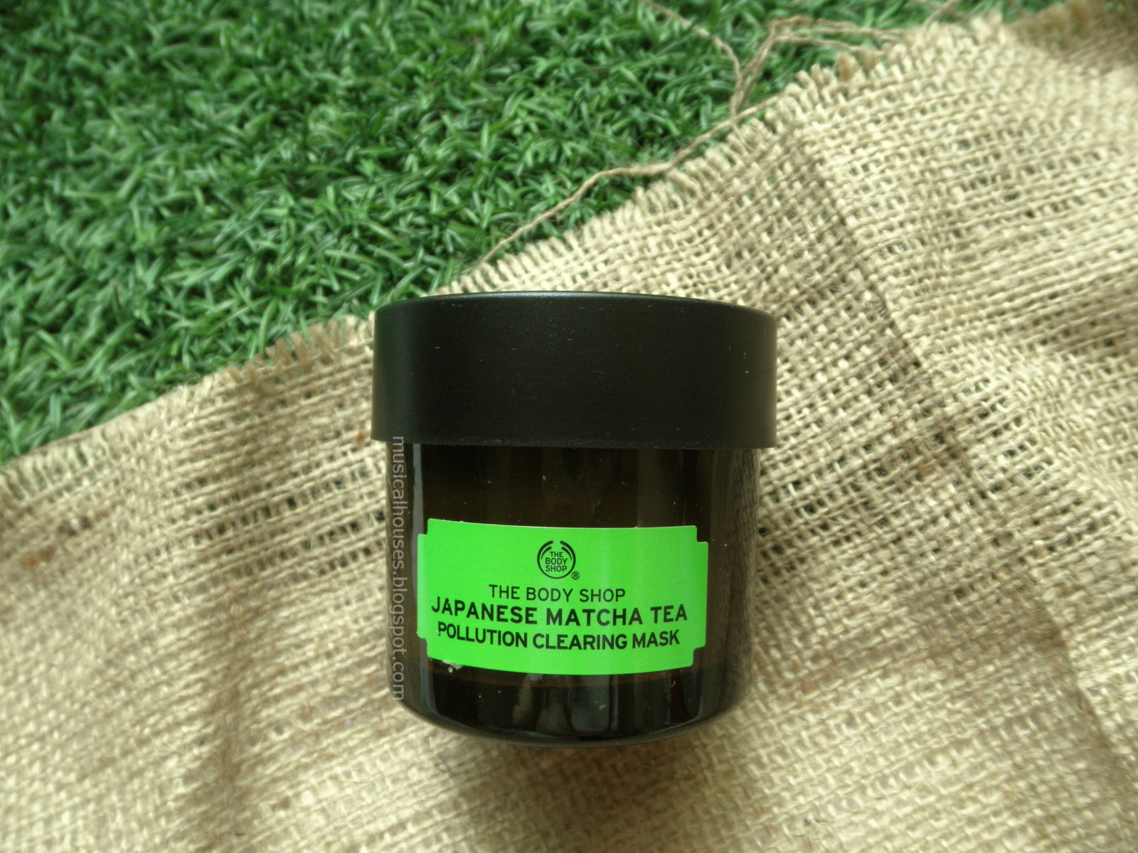 The Body Shop Japanese Matcha Tea Mask Review and