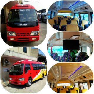Sewa Mobil Elf Bandung Rajawali Trans