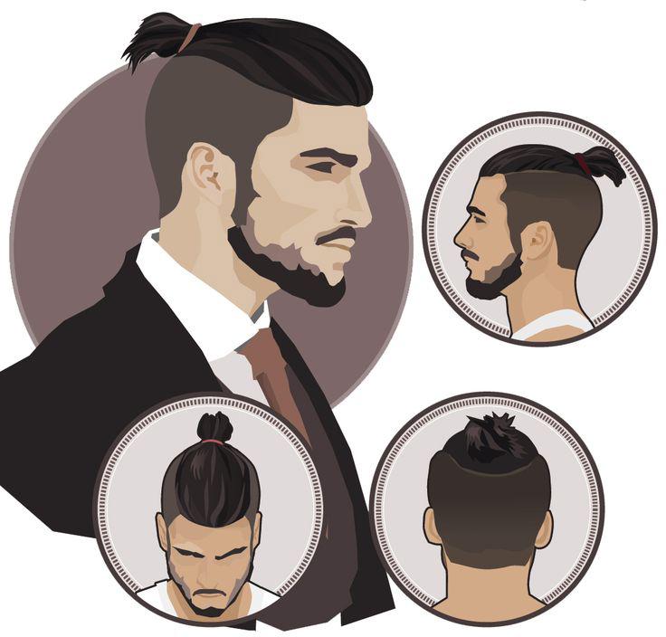 Gambar Model Rambut Panjang Pria Ikat Terbaru | Cahunit.com