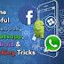 Facebook, instagram and Whatsapp Hacking tricks😎😎