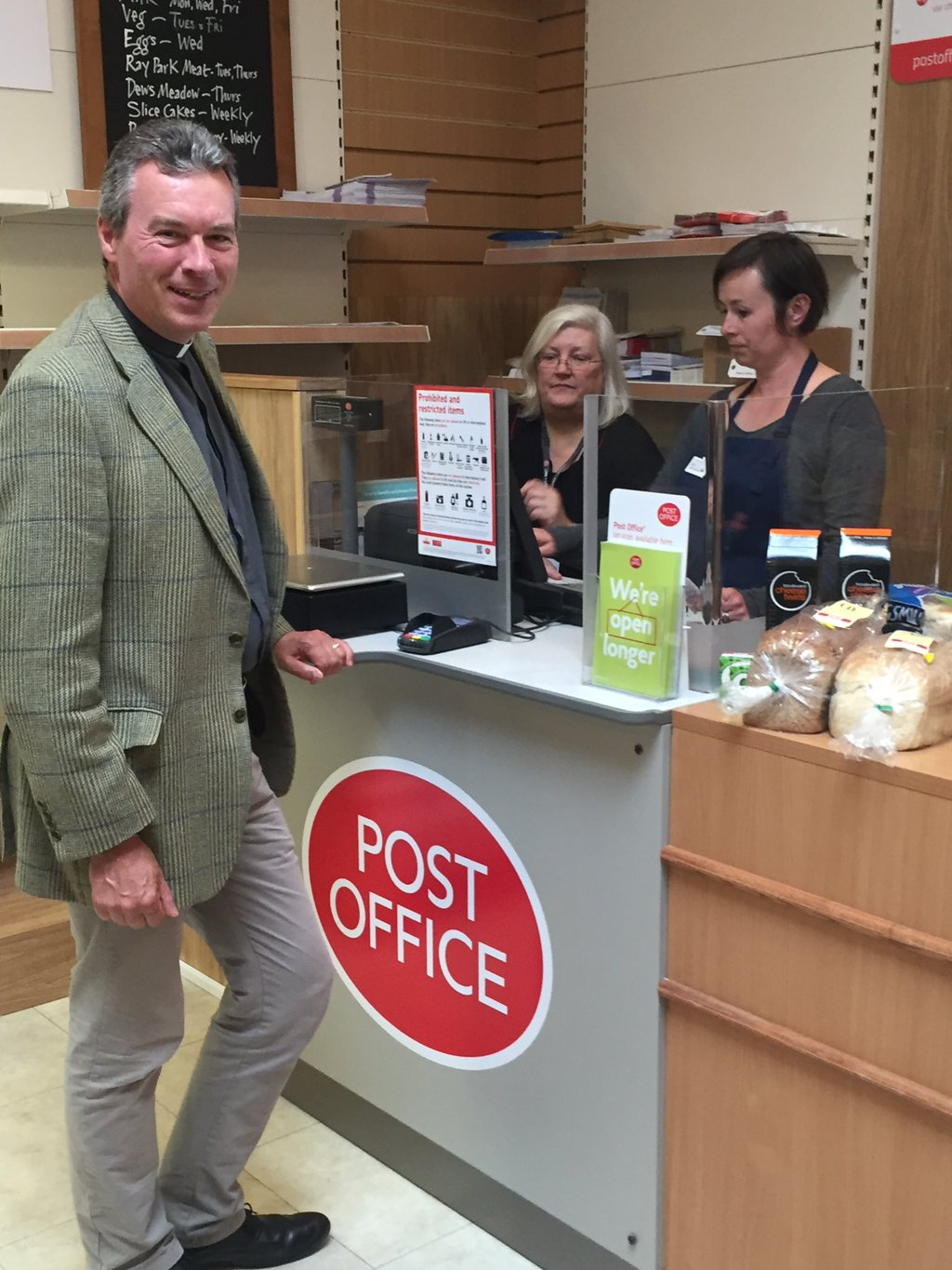 Brightwell village stores post office now open - Post office working today ...
