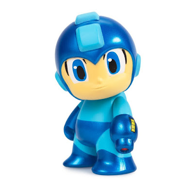 "San Diego Comic-Con 2016 Exclusive Metallic Blue Mega Man 3"" Vinyl Figure by Kidrobot"
