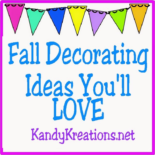 Fall Decorating Ideas You'll Love at Kandy Kreations