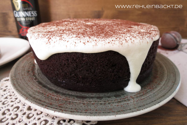 Guinness Chocolate Cake | Guinness Schokokuchen | Foodblog rehlein backt