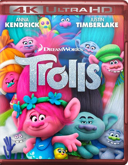 Trolls [2016] [UHD] [2160p] [Latino]