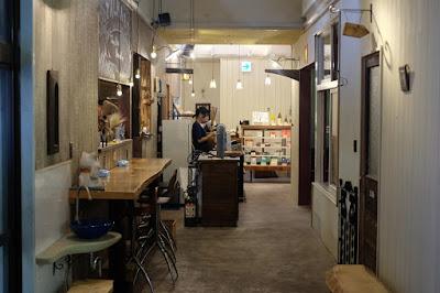 鳥取の自家製天然酵母のパン屋タルマーリー 廊下