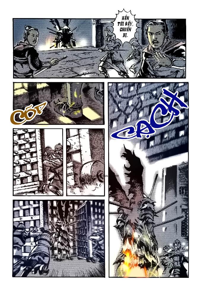 Hỏa phụng liêu nguyên Chương mở đầu trang 23