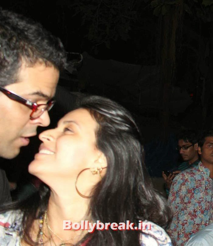 Vikramaditya Motwane with wife Ishika Mohan, Vikas Bahl's Birthday Bash Photo Gallery