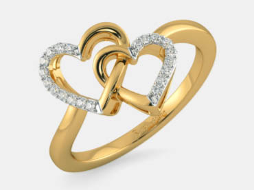 Model Cincin emas kuning terbaru