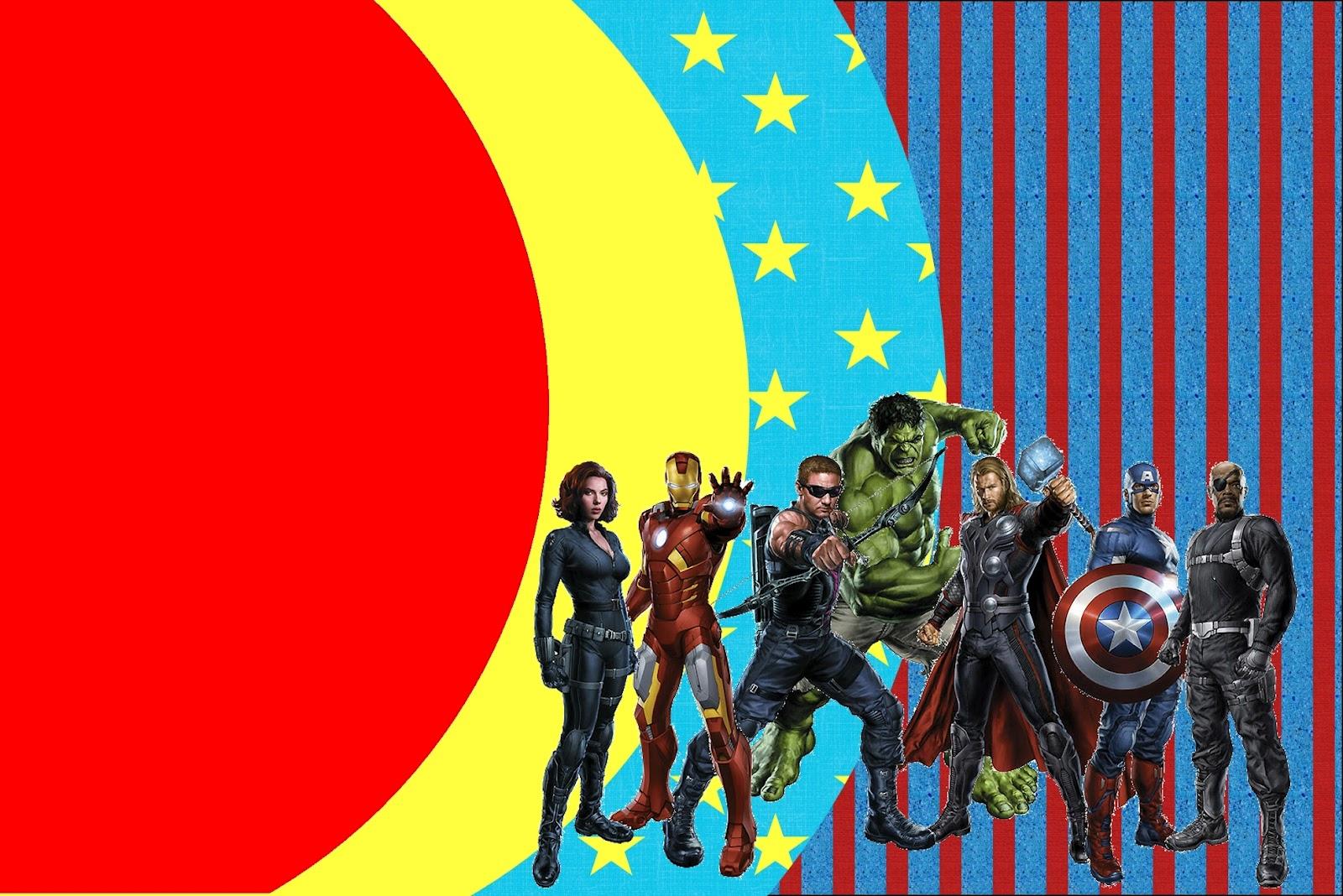 Free Avengers Invitation Templates Menshealtharts