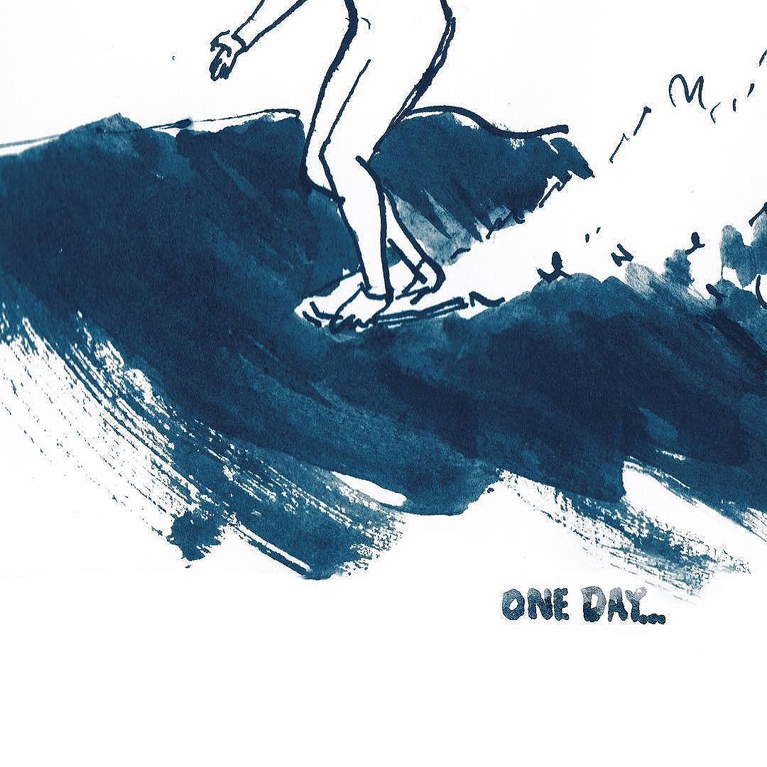 Las historias de surf de Fanny Thauvin