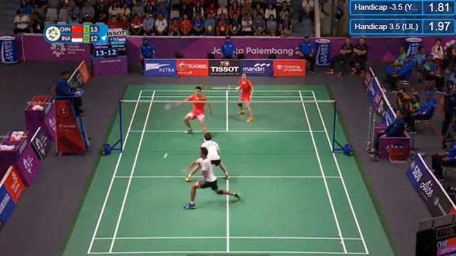 Live Streaming List: China vs Indonesia ASIAD 2018 Badminton (Mixed Doubles) Match