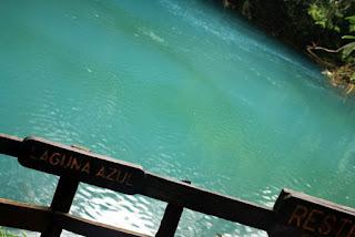 Laguna Azul del Rio Celeste