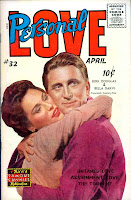 Personal Love v1 #32 Kirk Douglas romance comic book photo cover